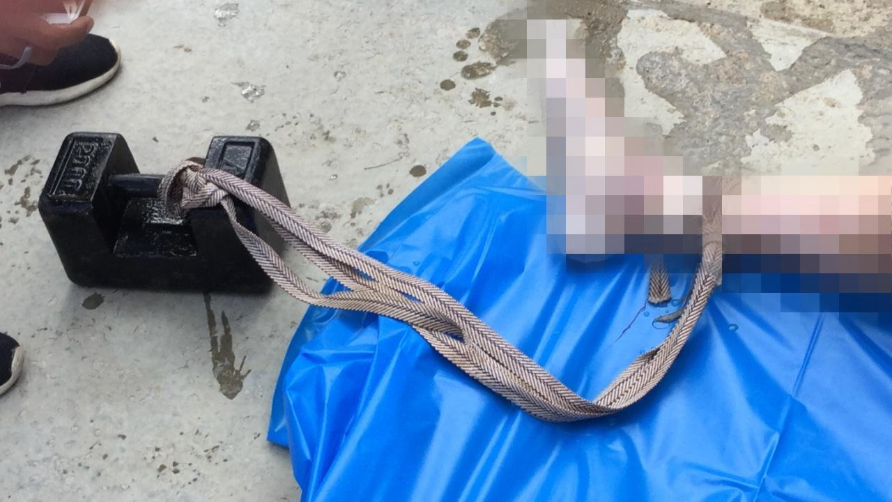 Mystery corpse in river had 20 kg weight tied to his ankle | Samui Times