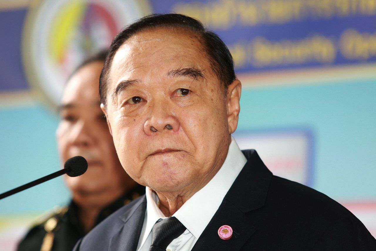 Defence Ministry rejects rumours that Prawit held meeting with Thaksin in London | Samui Times
