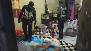 Hat Yai bloodbath as motorcycle taxi man, 59, shoots ex-lover 37, then himself   News by Samui Times