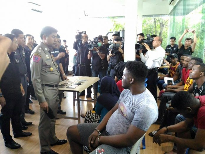 14 Arrested In More Raids Targeting 'Black People' | Samui Times