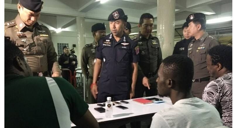 52 arrested in crackdown as police focus on black migrants and tourists | Samui Times
