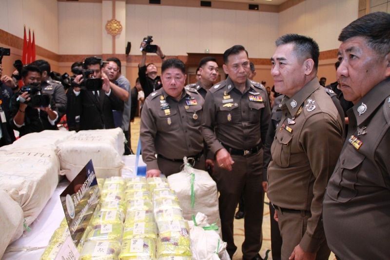 Arrest made as Bt1 bn worth of 'ice' seized   Samui Times