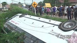 28 workers injured in Saraburi bus accident | News by Samui Times
