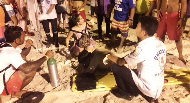 Two Chinese tourists saved from drowning at Patong Beach | Samui Times