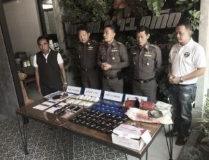 Phuket police arrest two men with drugs, gun and ammunition | News by Samui Times