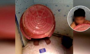 Police in Nakon Si Thammarat unfazed as Ya Ba suspect tries to hide behind bucket in the loo! | News by Samui Times