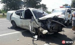 Eight year old survives as parents thrown from car in Buriram accident   News by Samui Times