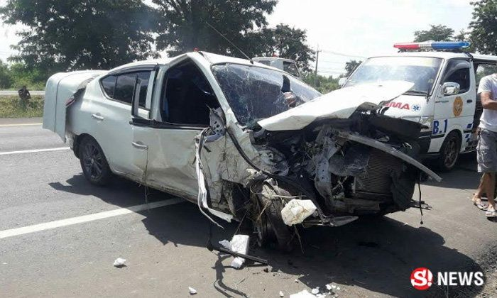 Eight year old survives as parents thrown from car in Buriram accident | Samui Times