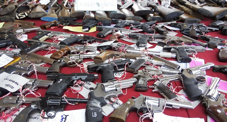 Govt to ban foreigners living in Thailand from owning guns | Samui Times