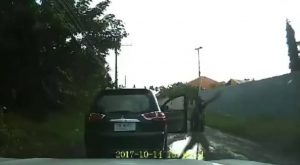 Shocking dash cam footage shows driver shoot at motorcyclist in Khon Kaen   News by Samui Times