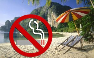 Smoke on Thai beaches this high season and face jail or 100,000 baht fine | News by Samui Times
