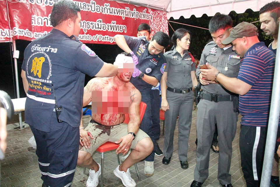Thai youths batter Iranian tourist in Pattaya | Samui Times