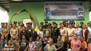 Troops build house for poor woman with disabled grandson in Chaiyaphum | News by Samui Times
