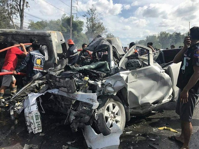 Road deaths rocket by 3,000 as Thailand set to be named