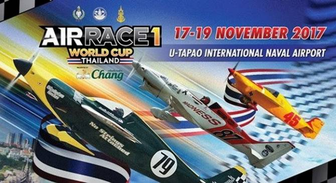 Thailand to host Air Race 1 World Cup | Samui Times