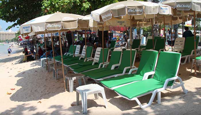 Cushions Were Supposed To Bring Order Out Of Chaos By Standardizing And Beautifying The Operations More Than 100 Vendors On Resorts Beaches