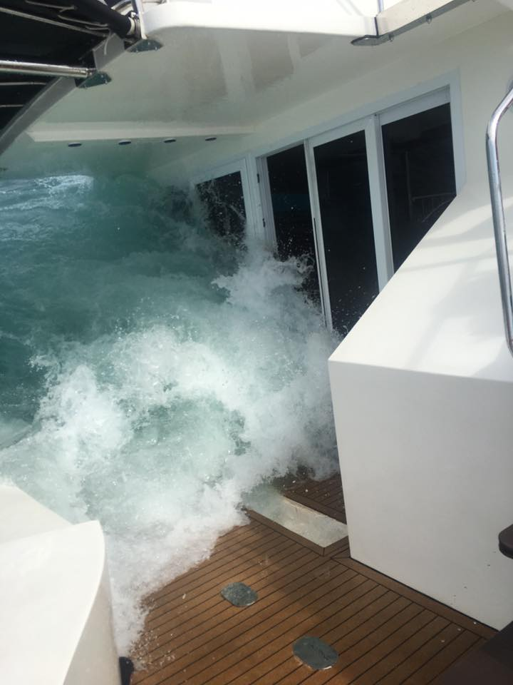 Sea rescue as 11 tourists and crew saved from pleasure boat | Samui Times