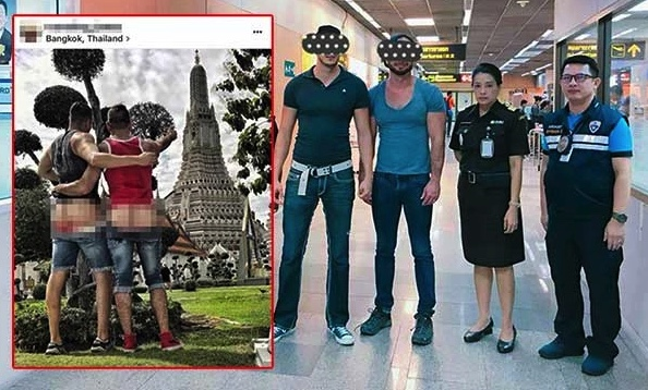 Tourists warned to respect Thai culture – two who showed their butts at Wat Arun arrested | Samui Times