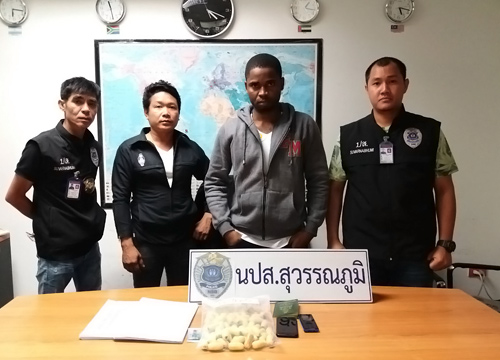 Two arrested at Suvarnabhumi Airport with cocaine   Samui Times