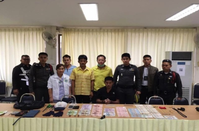 Hospital thief caught red handed with million baht loot in Suphanburi   Samui Times