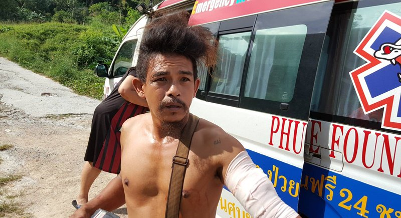 Man accuses monk of Phuket knife attack | Samui Times