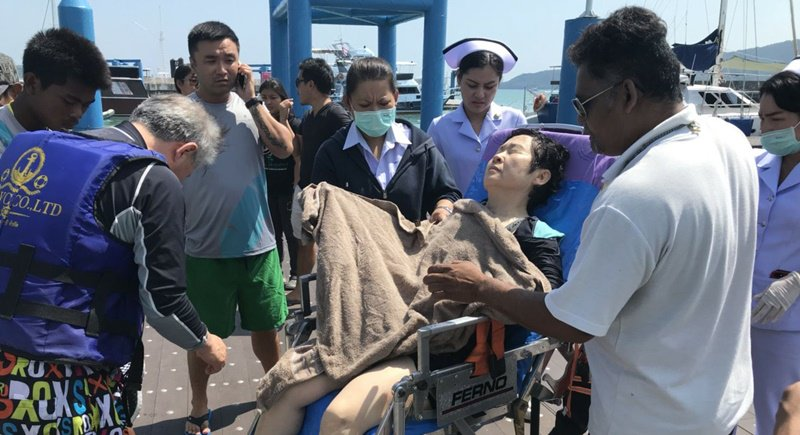 Korean tourist 72, saved from drowning off Phuket | Samui Times