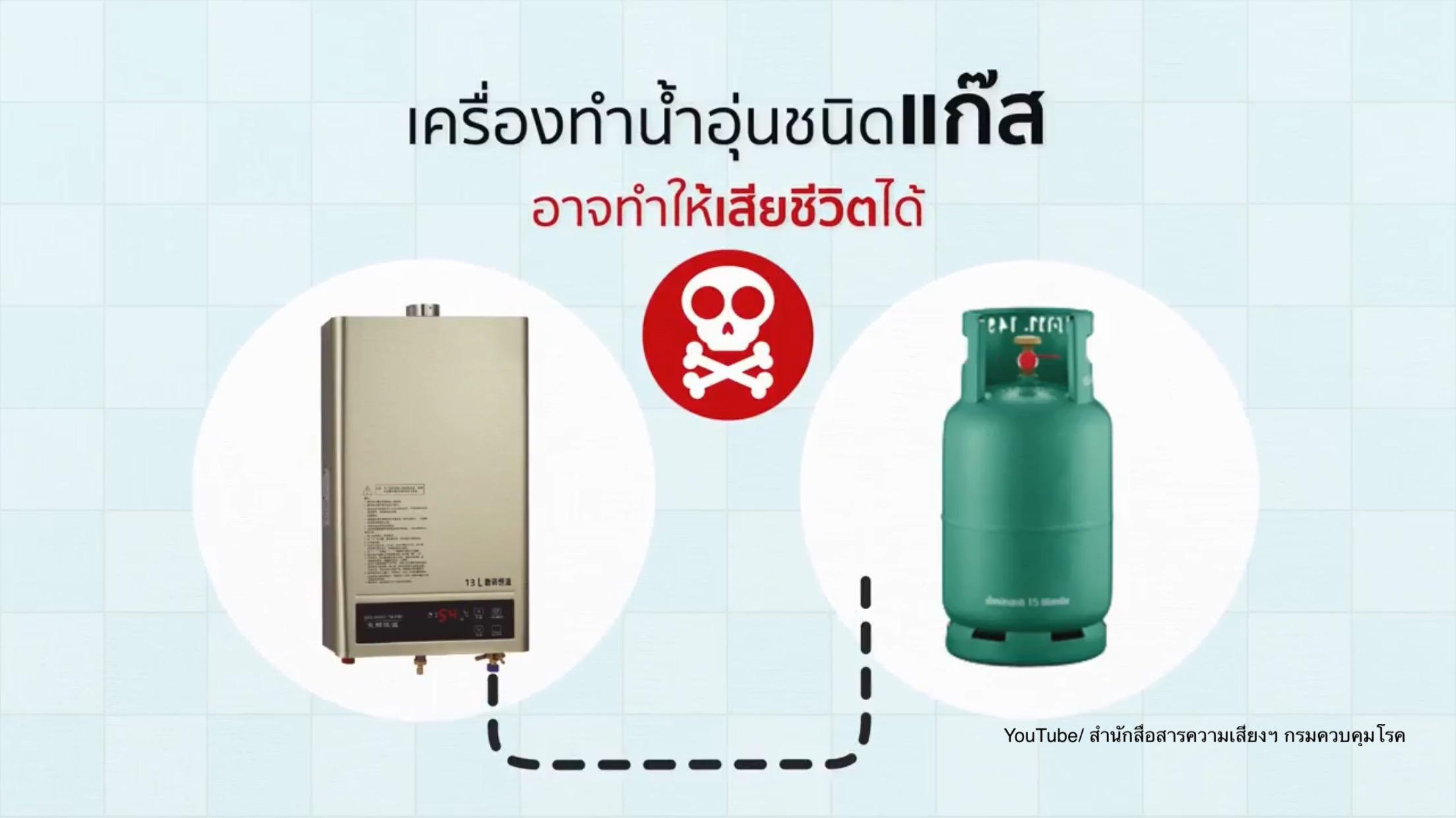 Warning out against substandard gas-powered water heaters | Samui Times