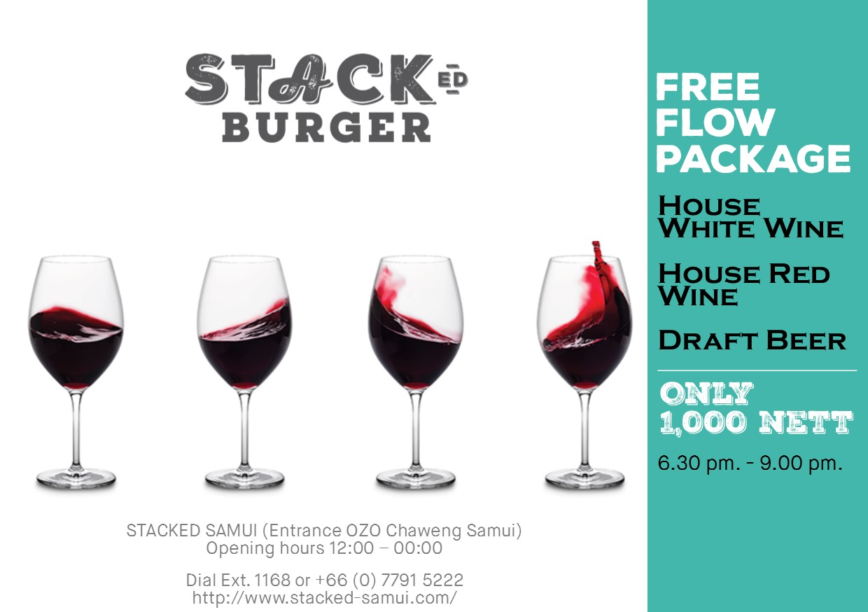 A night not to be missed at Stacked Chaweng – Friday 26th January | Samui Times