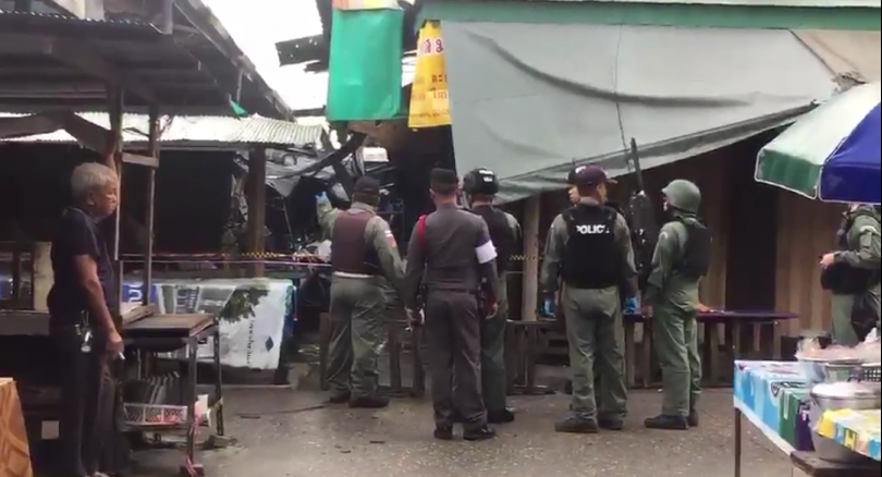 Two killed, four injured in Yala bomb attack | Samui Times