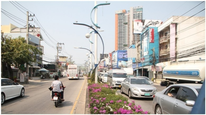 Bill Gates come back! Burying of Pattaya's hanging wires begins 19th February   Samui Times