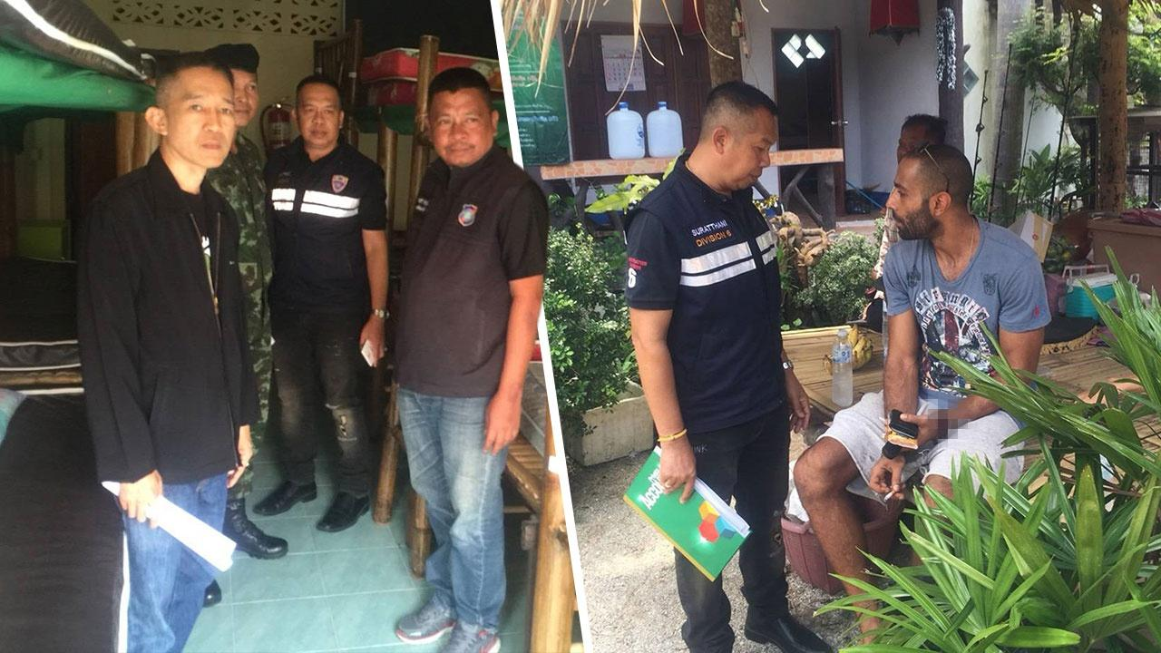 Foreign manager of Koh Phangan hostel faces deportation for cannabis possession | Samui Times