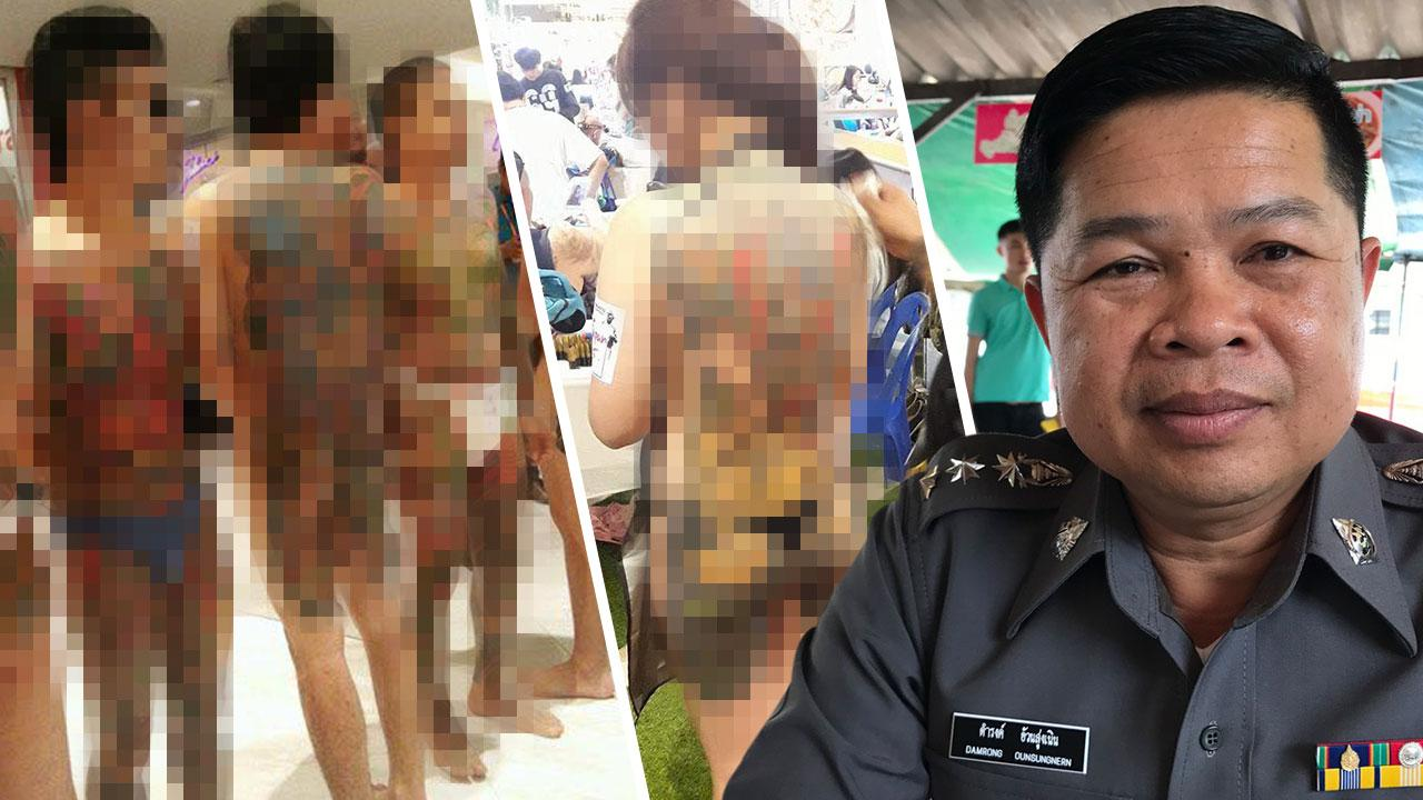 "Police chief put on inactive duty in fallout from ""obscene"" tattoo contest in Rayong mall 