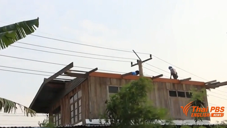 Summer storms wreak havoc to thousands of homes in 22 provinces | Samui Times
