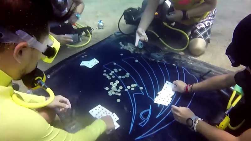Underwater gamblers will be in hot water if that's Krabi!   Samui Times