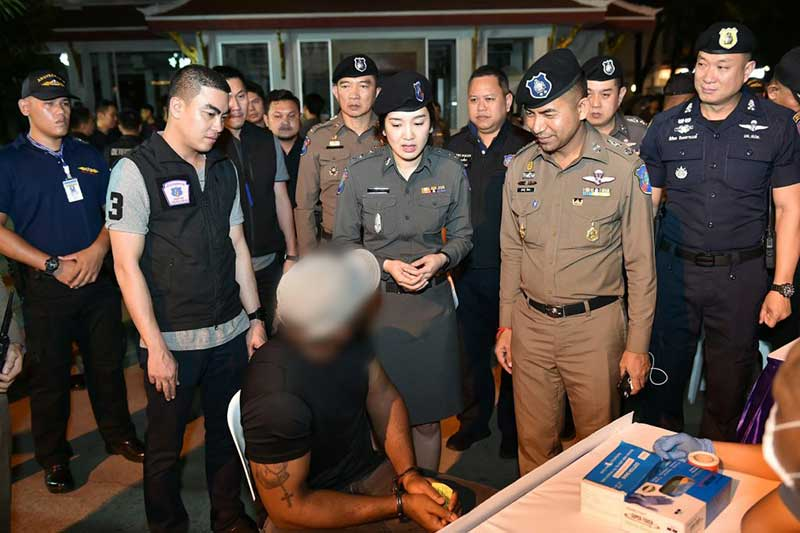 93 foreigners rounded up in nationwide crackdowns | Samui Times