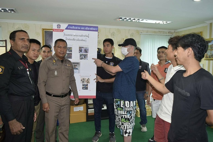 Algerian arrested for stealing from Korean tourist in Pattaya | Samui Times
