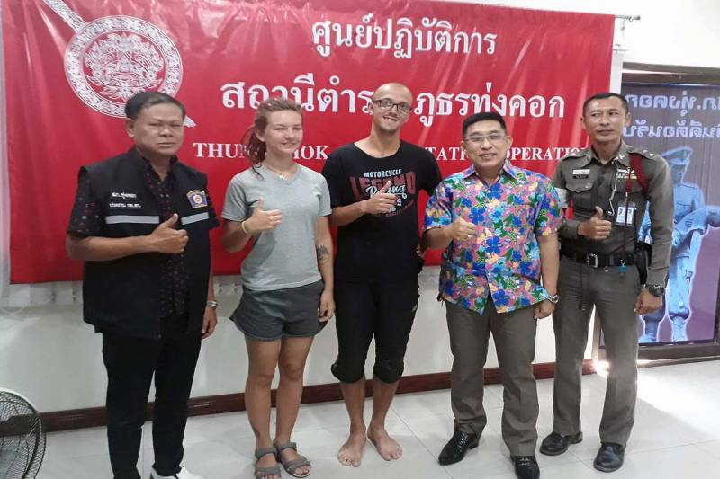 """Thai police are utterly wonderful!"" says Russian tourist after Suphanburi ""rescue"" 