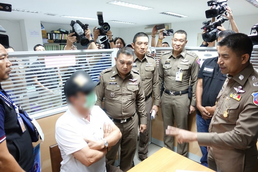 Pattaya mafia crackdown: Belgium national nabbed for extortion, overstay | Samui Times