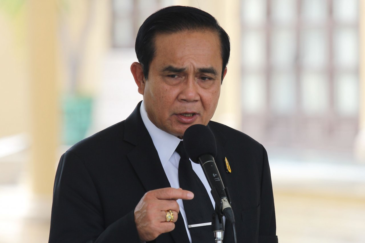PM told to step down as junta chief first | Samui Times