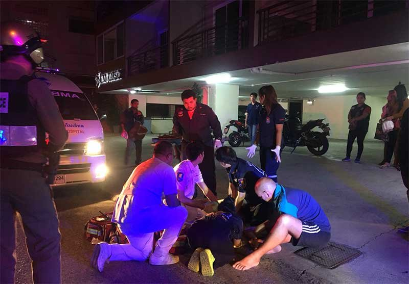 Thai woman falls to death from Pattaya apartment building | Samui Times