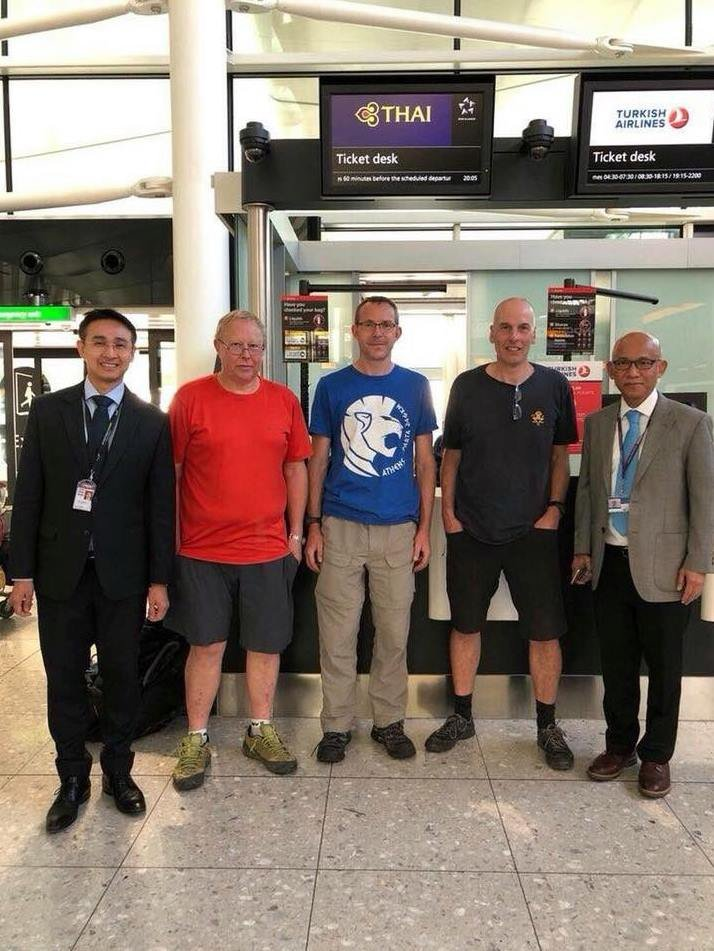 UK experts arriving to help rescue mission | Samui Times