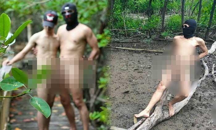 "Find the ""Naked Lads Gang"" and bang them to rights – pictures shock netizens! 