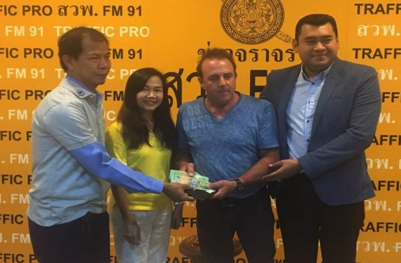 Australian engineer praises Thailand after 100,000 returned by honest cabby | Samui Times
