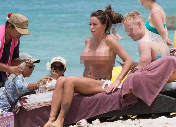 Could top UK model be fined for obscenity after showing off her assets in Thailand? | Samui Times