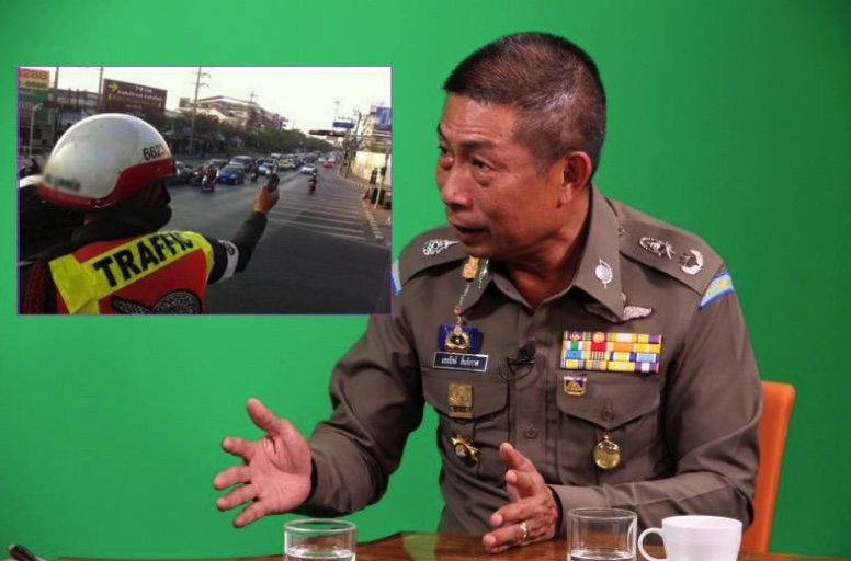 Corrupt traffic police to be sacked, named and shamed, says top cop | Samui Times