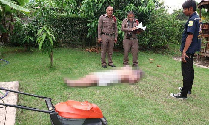 """Gardening loving Brit"" electrocuted while mowing the lawn in Khon Kaen 
