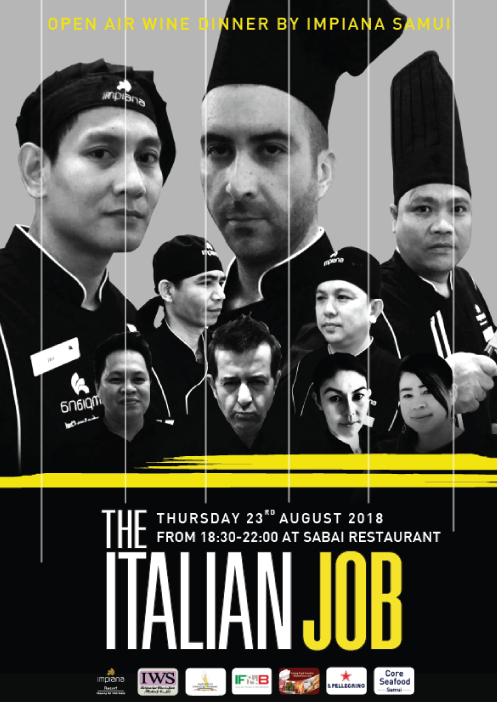 'The Italian Job' – Open Air Wine Dinner by Impiana Samui at our Sabai beachfront restaurant | Samui Times