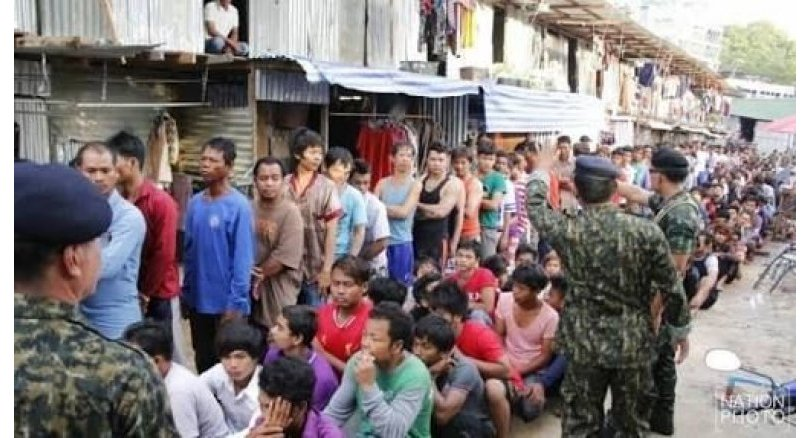 Hundreds of employers, workers without permits arrested in nationwide sweeps | Samui Times