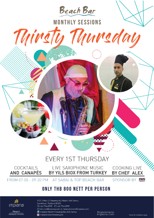Thirsty Thursday at Impiana Resort, Chaweng Noi | Samui Times