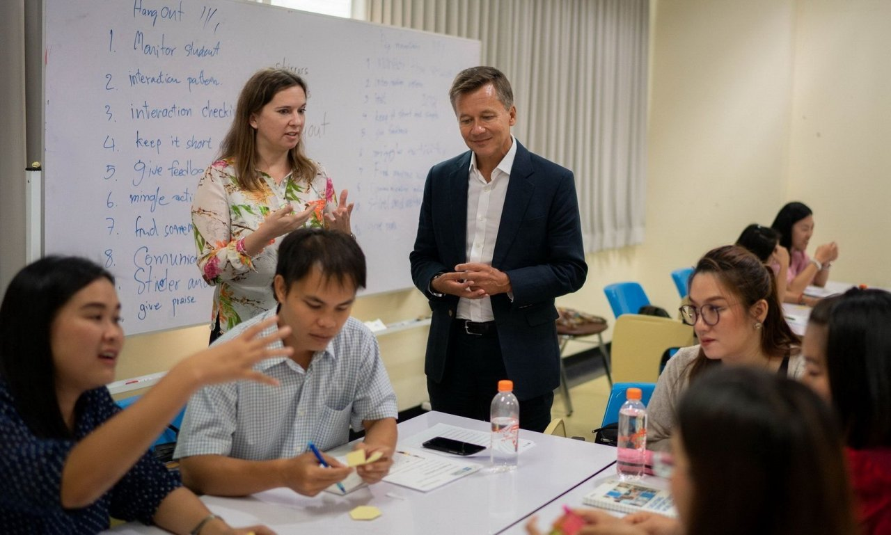 New approach to teaching English already shows results | Samui Times